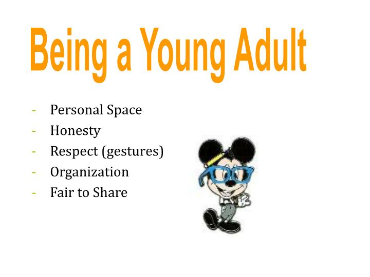 Being a Young Adult