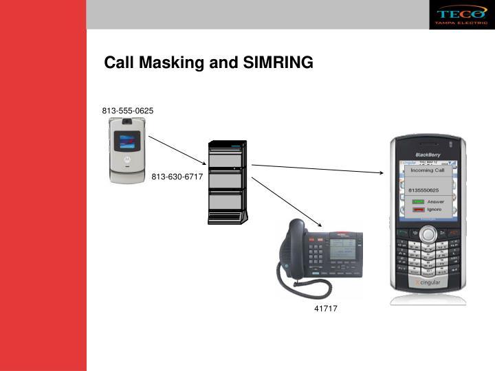 Call Masking and SIMRING