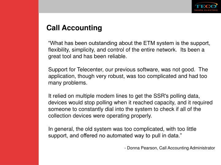 Call Accounting