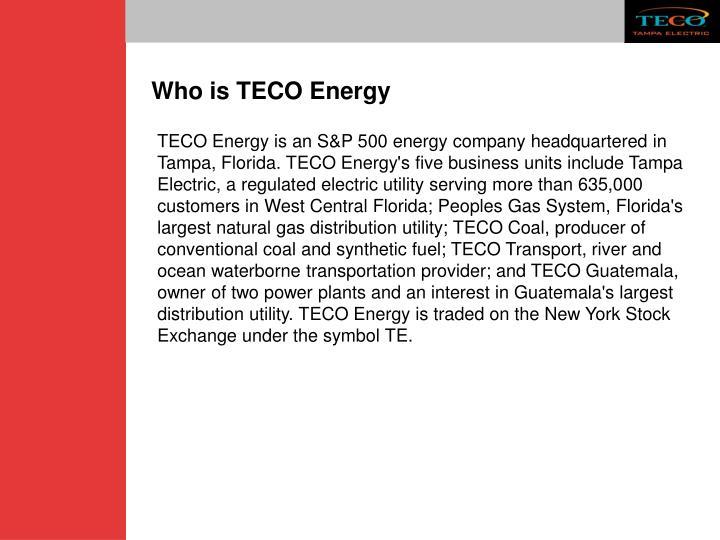 Who is TECO Energy