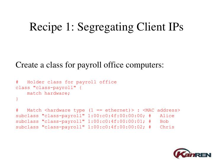 Create a class for payroll office computers: