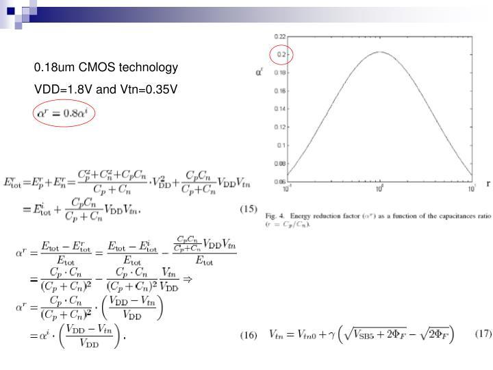 0.18um CMOS technology