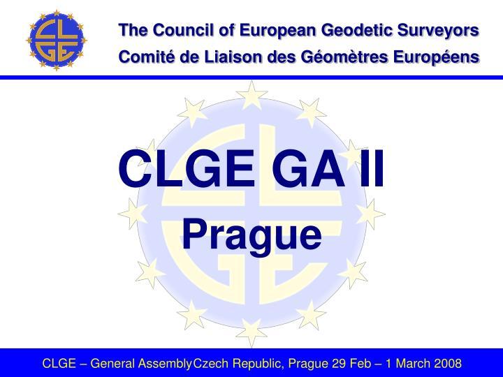 CLGE GA II