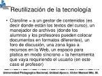 reutilizaci n de la tecnolog a