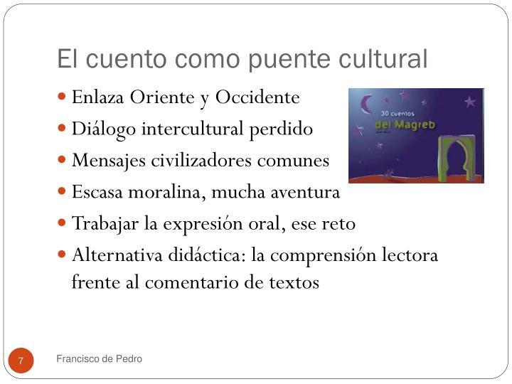 El cuento como puente cultural