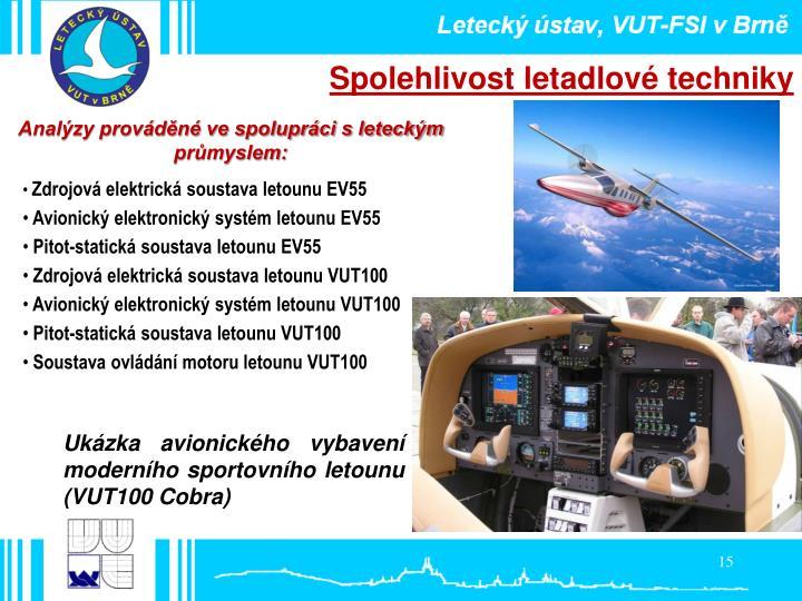 Spolehlivost letadlové techniky