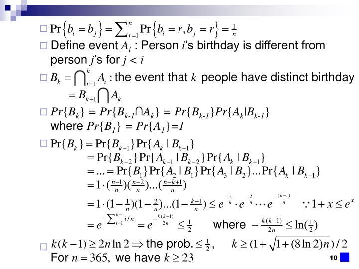 Define event