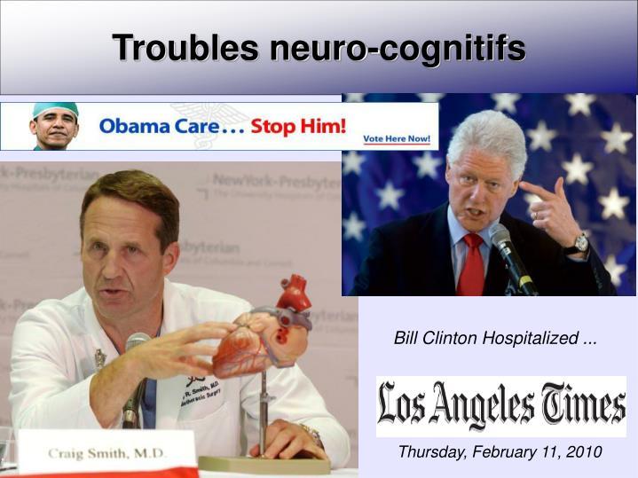 Troubles neuro-cognitifs