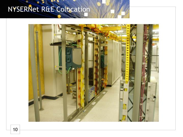 NYSERNet R&E Colocation
