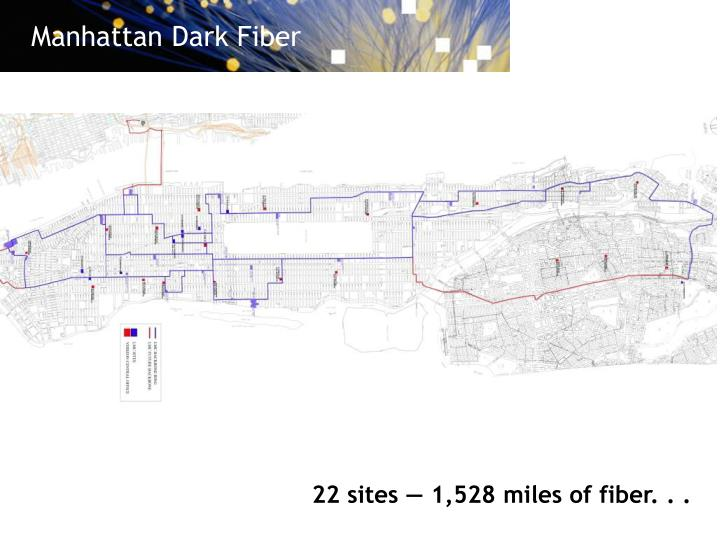 Manhattan Dark Fiber