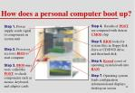 how does a personal computer boot up