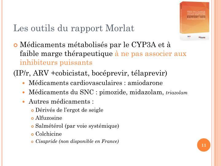 Les outils du rapport Morlat
