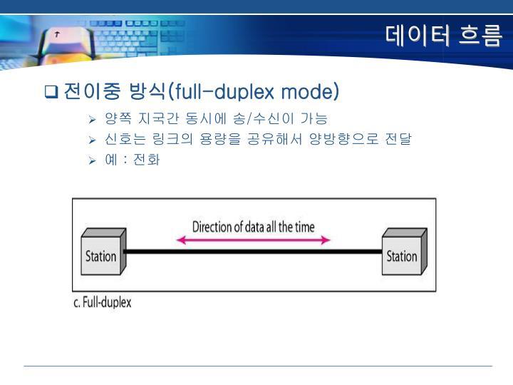 데이터 흐름