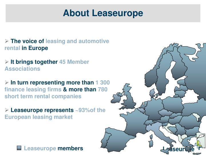 About leaseurope
