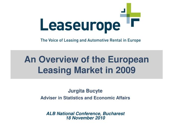 An Overview of the European Leasing Market in 2009