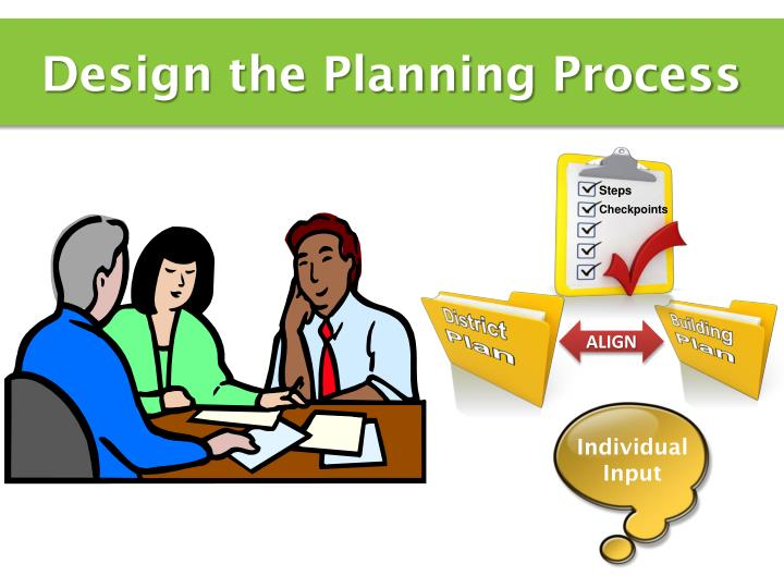 Design the Planning Process