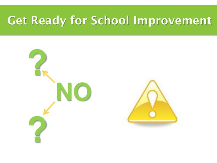 Get Ready for School Improvement