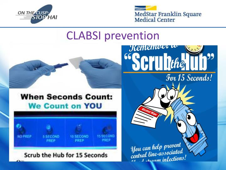 CLABSI prevention
