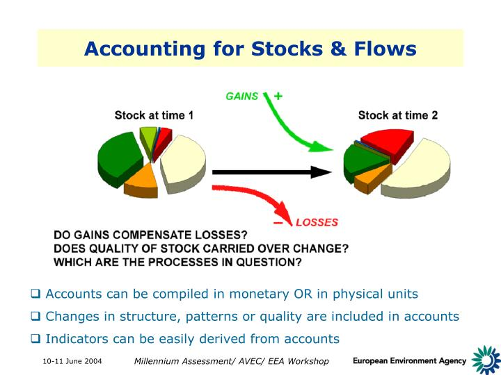 Accounting for Stocks & Flows