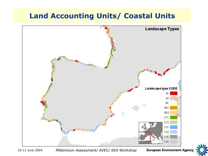 Land Accounting Units/ Coastal Units