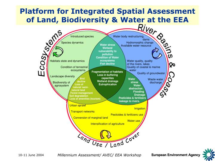Platform for Integrated Spatial Assessment of Land, Biodiversity & Water at the EEA