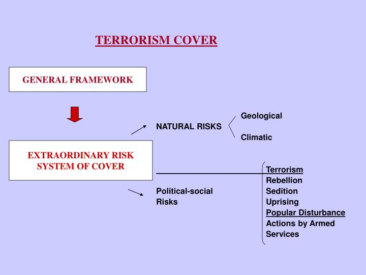 TERRORISM COVER