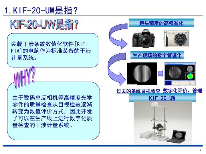 1.KIF-20-UW