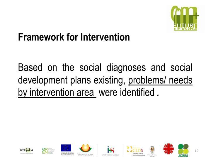 Framework for Intervention
