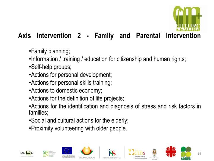 Axis Intervention 2 - Family and Parental