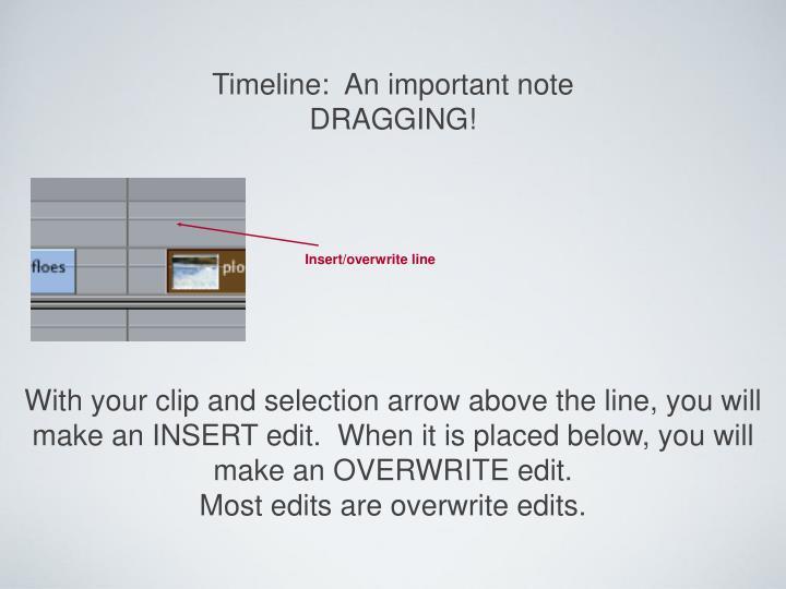 Insert/overwrite line