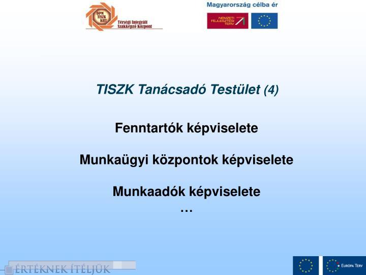 TISZK Tanácsadó Testület
