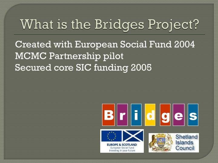 What is the Bridges Project?
