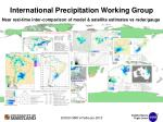 international precipitation working group
