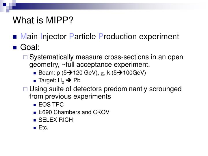 What is mipp