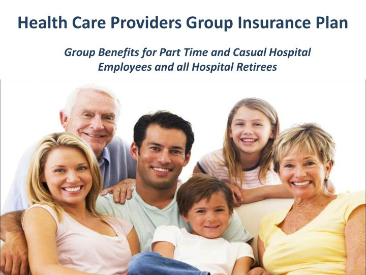 Health Care Providers Group Insurance Plan