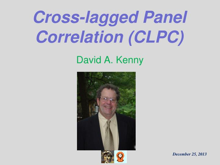 Cross lagged panel correlation clpc