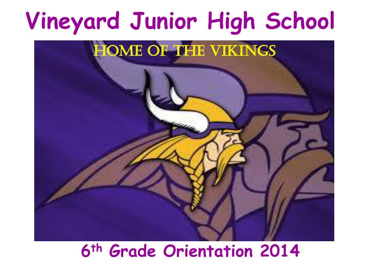 Vineyard Junior High School