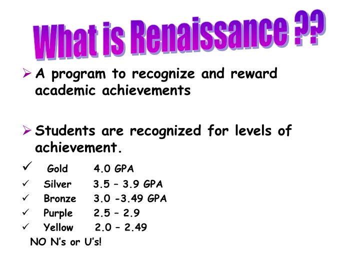 What is Renaissance ??
