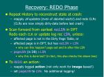 recovery redo phase