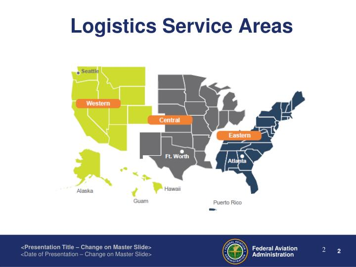 Logistics Service Areas