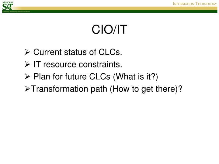 CIO/IT