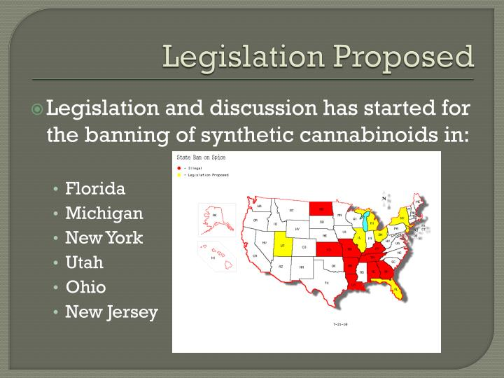 Legislation Proposed