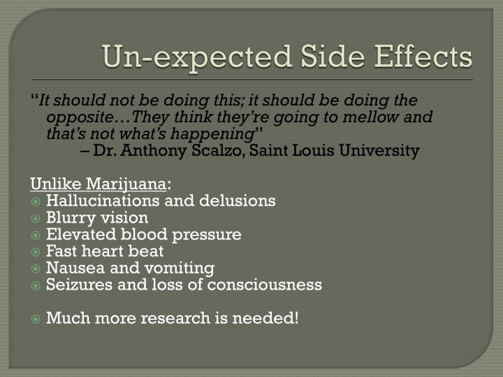 Un-expected Side Effects