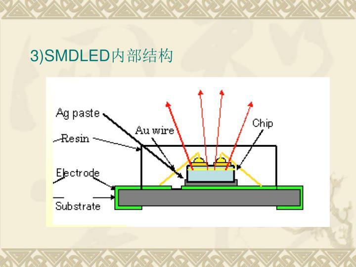 3)SMDLED