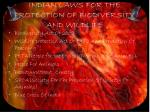indian laws for the protection of biodiversity and wildlife