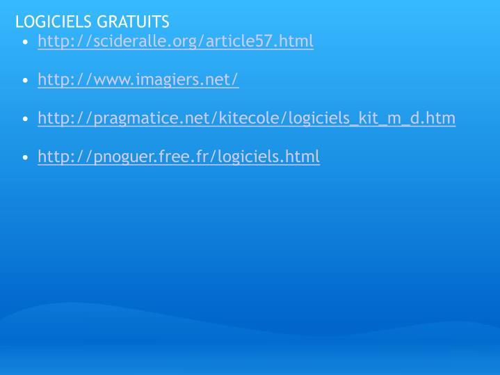 LOGICIELS GRATUITS