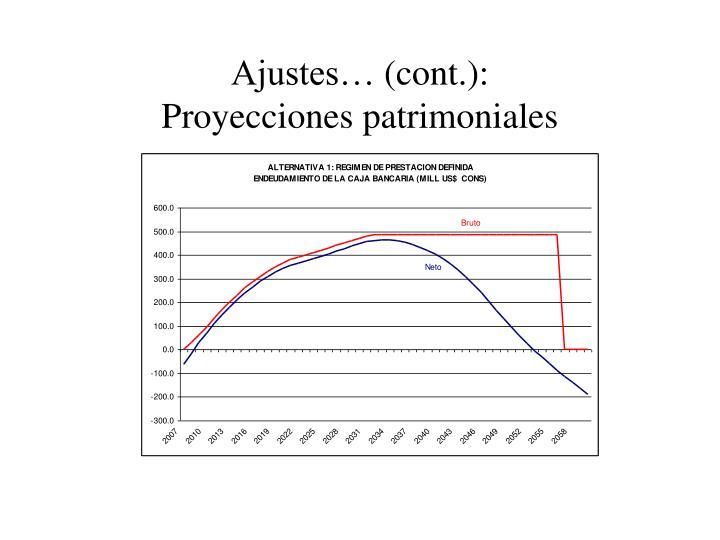 Ajustes…