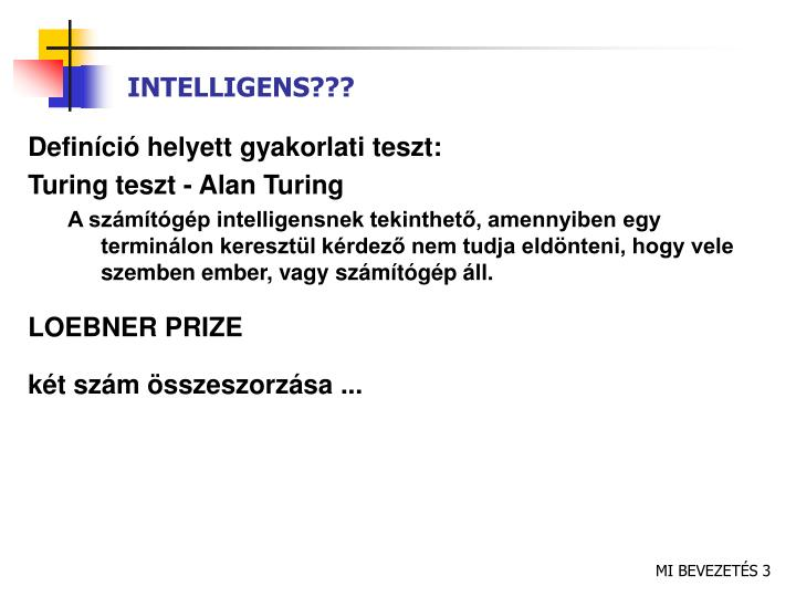 INTELLIGENS???
