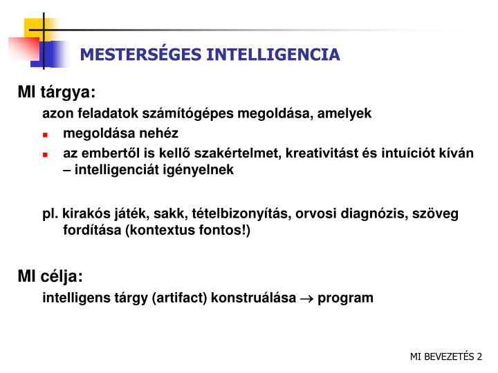Mesters ges intelligencia
