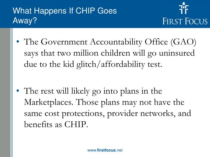 What Happens If CHIP Goes Away?